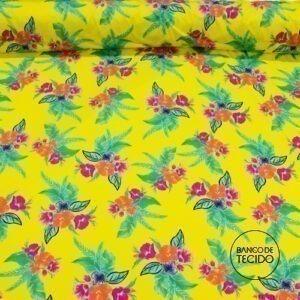 FAR05-0053 Floral Tropical (Sob. Tex.)