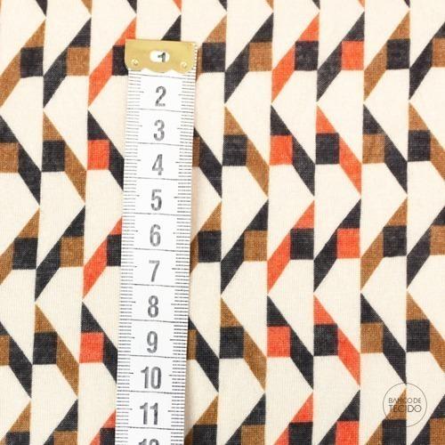 SOM06-0038 Geometrico Ferrugem (Sob. Tex.)