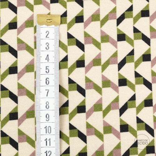 SOM06-0080 Geometrica Verde P (Sob. Tex.)