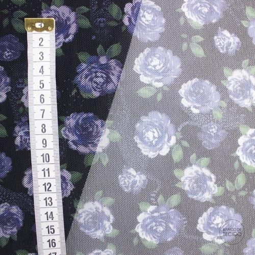GEN05-0032 Rosas Azuis (Sob. Tex.)