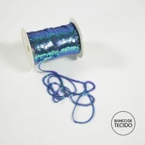 BTA12-0067 Paetê fio Azul Nacarado (Sob. Tex.)