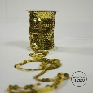 BTA12-0069 Paetê fio Dourado (Sob. Tex.)