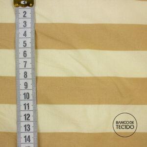 FOC01-0012 Listrado Bege (Sob. Tex.)