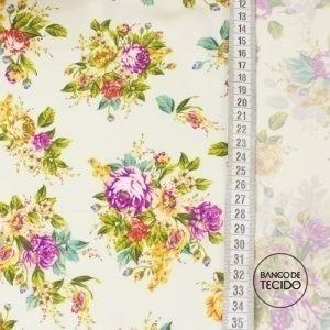 FAR01-0211 Floral Retrô (Sob. Tex.)